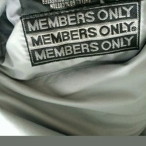 Members Only Jacket XL Reversible